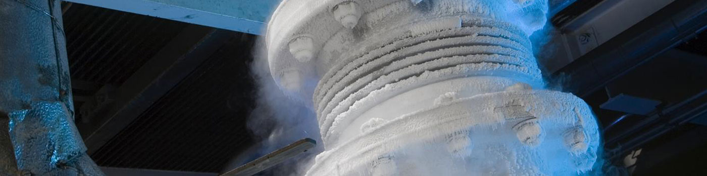 Cryogenic turbo equipment for air separation applications
