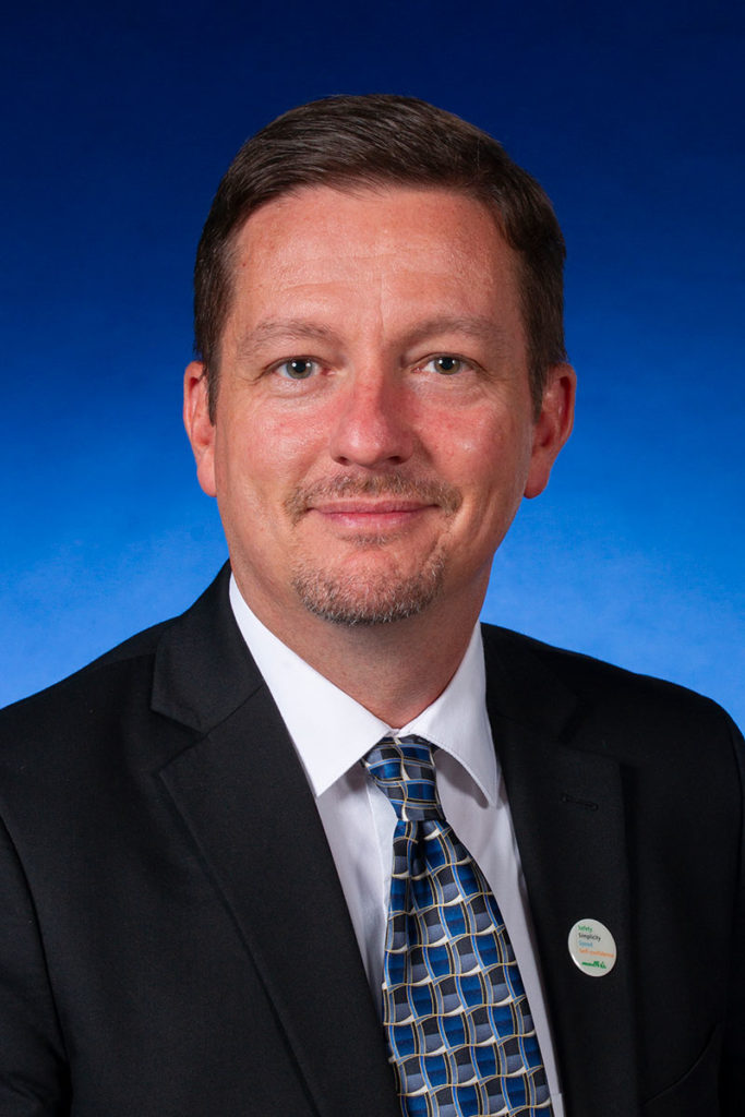 Headshot of Darren Prosser, Rotoflow Global Business Manager, Turbomachinery Aftermarket Services